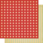 Cosmo Cricket - Garden Variety Collection - 12 x 12 Double Sided Paper - Sunday Picnic, CLEARANCE