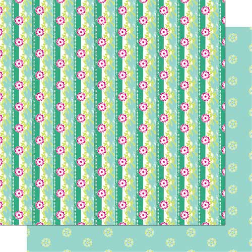 Cosmo Cricket - DeLovely Collection - 12 x 12 Double Sided Paper - Delightful