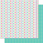 Cosmo Cricket - DeLovely Collection - 12 x 12 Double Sided Paper - Delirious