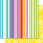 Cosmo Cricket - DeLovely Collection - 12 x 12 Double Sided Paper - Deluxe