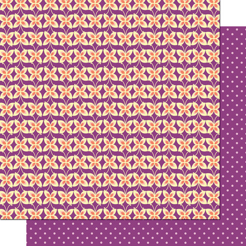 Cosmo Cricket - Pixie-Licious Collection - 12 x 12 Double Sided Paper - Butterfly Kisses
