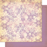Cosmo Cricket - Mitten Weather Collection - Christmas - 12 x 12 Double Sided Paper - Flurries
