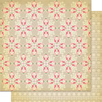 Cosmo Cricket - Mitten Weather Collection - Christmas - 12 x 12 Double Sided Paper - Winter Frost