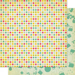 Cosmo Cricket - Upcycle Collection - 12 x 12 Double Sided Paper - Reverse