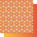 Cosmo Cricket - Salt Air Collection - 12 x 12 Double Sided Paper - Coral Blooms