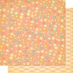 Cosmo Cricket - Salt Air Collection - 12 x 12 Double Sided Paper - Tiny Bubbles