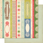 Cosmo Cricket - Odds and Ends Collection - 12 x 12 Double Sided Paper - Sampler