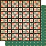 Cosmo Cricket - Dear Mr. Claus Collection - Christmas - 12 x 12 Double Sided Paper - Santa's Letters