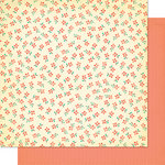 Cosmo Cricket - Clementine Collection - 12 x 12 Double Sided Paper - Sabrina