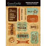 Cosmo Cricket - Cardstock Stickers - Wanted