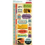 Cosmo Cricket - Snorkel Collection - Stickers