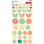 Cosmo Cricket - Clementine Collection - Stickers - Lovely Bits