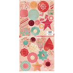 Cosmo Cricket - Hey Sugar Collection - Valentine's Day - Die-Cuts - Buttons and More Fashions, CLEARANCE