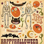 Cosmo Cricket - Haunted Collection - Adhesive Die Cuts