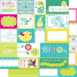 Cosmo Cricket - DeLovely Collection - 12 x 12 Double Sided Paper - Elements, CLEARANCE