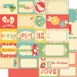 Cosmo Cricket - Togetherness Collection - 12 x 12 Double Sided Paper - Elements
