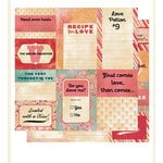 Cosmo Cricket - Hey Sugar Collection - Valentine's Day - Paper - Journaling Cards, CLEARANCE