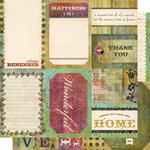 Cosmo Cricket - Fleuriste Collection - Journal Cards - Fleuriste