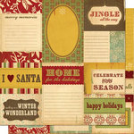 Cosmo Cricket - Oh Joy Collection - 12 x 12 Double Sided Paper - Journaling Cards