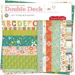 Cosmo Cricket - Girl Friday and Everafter Collections - Double Deck 12 x 12 Paper Pad , CLEARANCE