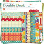 Cosmo Cricket - Lil' Man and Snorkel Collections - Double Deck 12 x 12 Paper Pad, BRAND NEW