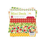 Cosmo Cricket - Garden Variety Collection - Mini Deck 6 x 6 Paper Pad