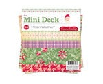 Cosmo Cricket - Mitten Weather Collection - Christmas - Mini Decks - 6 x 6 Paper Pad