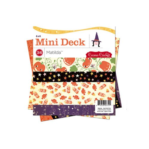 Cosmo Cricket - Matilda Collection - Halloween - Mini Deck - 6 x 6 Paper Pad, BRAND NEW - click to enlarge