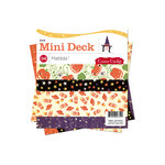 Cosmo Cricket - Matilda Collection - Halloween - Mini Deck - 6 x 6 Paper Pad, CLEARANCE