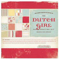 Cosmo Cricket - Dutch Girl Collection - Paper Pack - Paper Crafting Kit