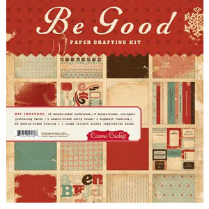 Cosmo Cricket - Be Good Collection - Paper Crafting Kit, CLEARANCE