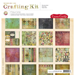Cosmo Cricket - Fleuriste Collection - Paper Crafting Kit - Fleuriste