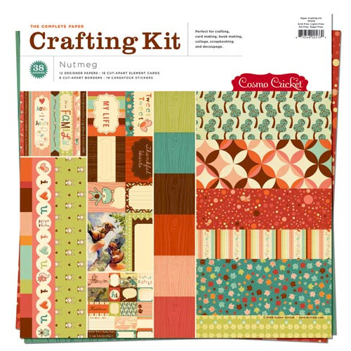 Cosmo Cricket - Nutmeg Collection - Paper Crafting Kit