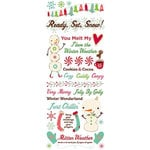 Cosmo Cricket - Jolly By Golly Collection - Rub Ons - Icon