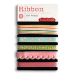 Cosmo Cricket - Girl Friday Collection - Ribbon, CLEARANCE