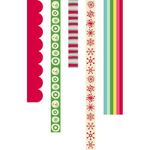 Cosmo Cricket - Jolly By Golly Collection - Ribbon
