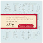 Cosmo Cricket - Ready-Set-Chipboard - Tick Tock, CLEARANCE