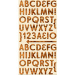 Cosmo Cricket - Ready Set Chipboard - Paul Bunyan Alphabet, CLEARANCE