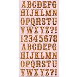 Cosmo Cricket - Ready Set Chipboard - High Noon Alphabet