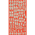 Cosmo Cricket - Ready Set Chipboard - Blue Line Alphabet, CLEARANCE