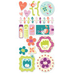 Cosmo Cricket - Pixie-Licious Collection - Ready Set Chipboard
