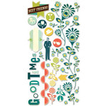 Cosmo Cricket - Social Club Collection - Ready Set Chipboard