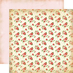 Carta Bella Paper - Baby Mine Collection - Girl - 12 x 12 Double Sided Paper - Baby Floral