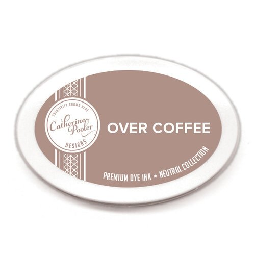 Catherine Pooler Designs - Neutral Collection - Premium Dye Ink Pads - Over Coffee