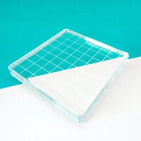 Catherine Pooler Designs - Acrylic Grid Stamping Block 4.25 x 4.25