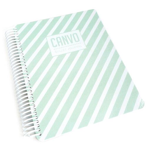 Catherine Pooler Designs - Journal - Mint Stripe