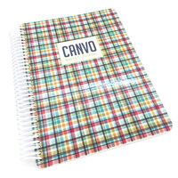 Catherine Pooler Designs - Beautiful New Year Collection - Bullet Journal - Hip Plaid Canvo
