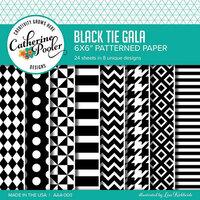 Catherine Pooler Designs - 6 x 6 Patterned Paper - Black Tie Gala