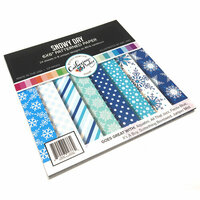 Catherine Pooler Designs - 6 x 6 Patterned Paper - Snowy Day