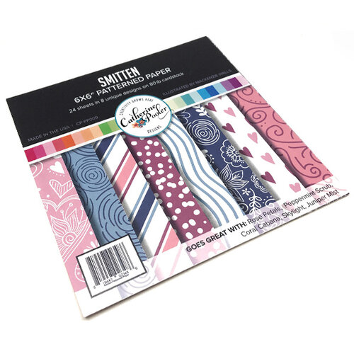Catherine Pooler Designs - 6 x 6 Patterned Paper - Smitten